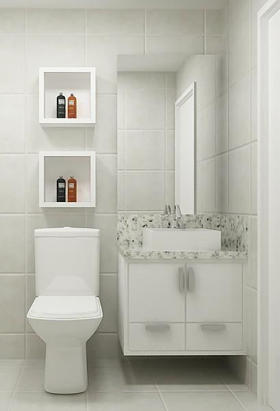 Banheiro Social Pictures to pin on Pinterest -> Decoracao De Banheiros Sociais